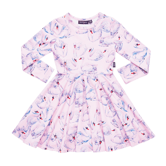 SWANS WAISTED DRESS