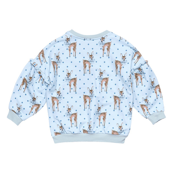 DEER HEART SWEATSHIRT