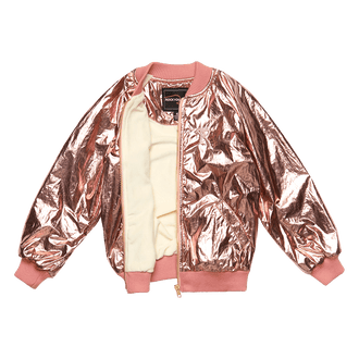 METALLIC PINK JACKET