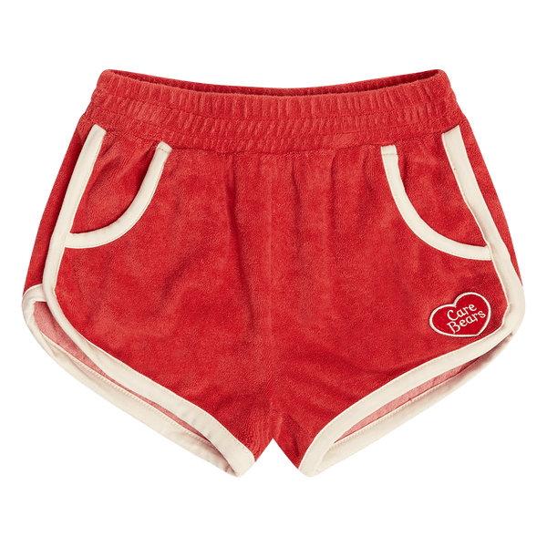 RED HAPPY SHORTS