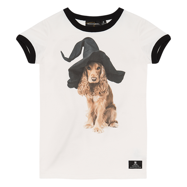 DOG TRICKS RINGER T-SHIRT
