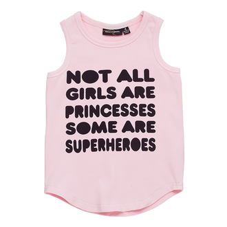NOT ALL GIRLS SINGLET TOP
