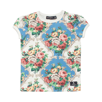 FRENCH CHINTZ RINGER T-SHIRT