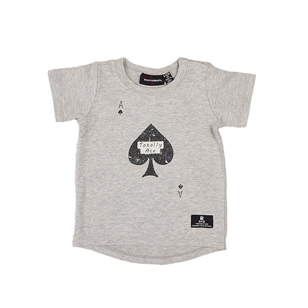TOTALLY ACE BABY T-SHIRT