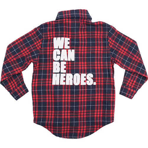 WE CAN BE HEROES SHIRT