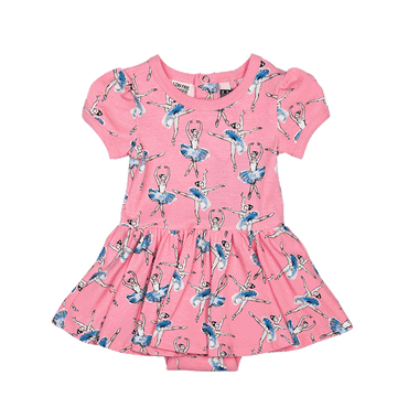 BASQUE BABY WAISTED DRESS