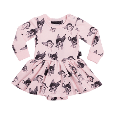 BAMBI LOVE BABY WAISTED DRESS