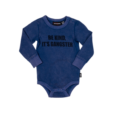 BE KIND IT'S GANGSTER BODYSUIT