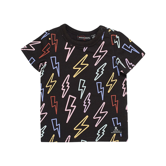 NEON BOLTS BABY T-SHIRT