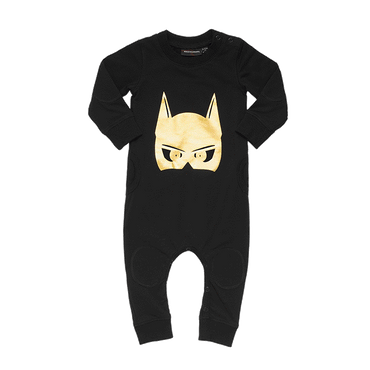 CAPED CRUSADER BABY PLAYSUIT