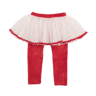 RED VELVET BABY CIRCUS TIGHTS