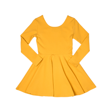 MUSTARD MABEL DRESS