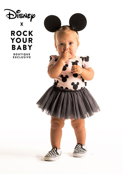 MICKEY SILHOUETTE BABY CIRCUS DRESS