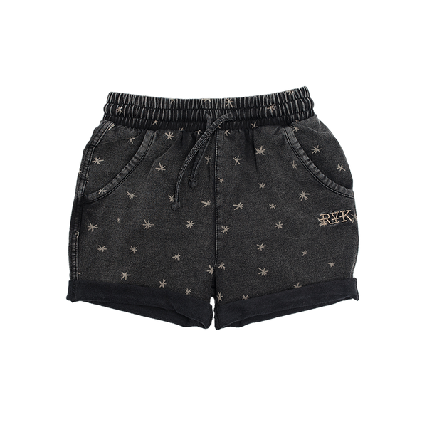 ASTERISKS SLOUCH SHORTS
