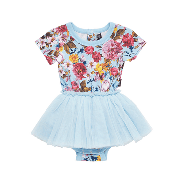 NOTHING BUT FLOWERS BABY CIRCUS DRESS