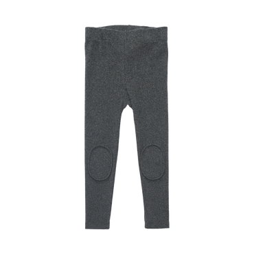 CHARCOAL KNEE PATCH TIGHTS