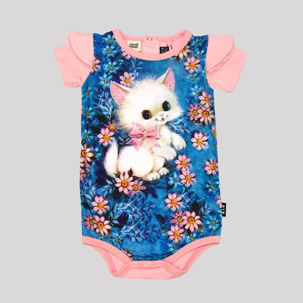 RETRO KITTEN BODYSUIT