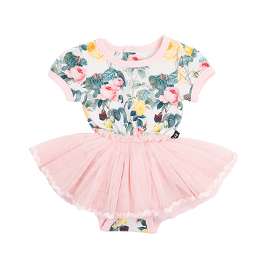 A ROSE IS A ROSE BABY CIRCUS DRESS