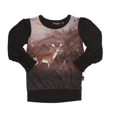 Fawn Long Sleeve T-Shirt Rock Your Baby