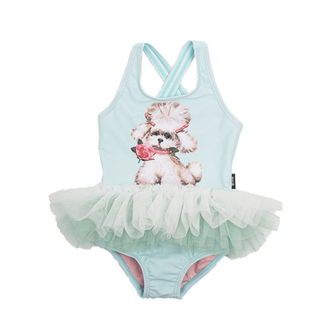 SNOWFLAKE BABY TULLE ONE PIECE