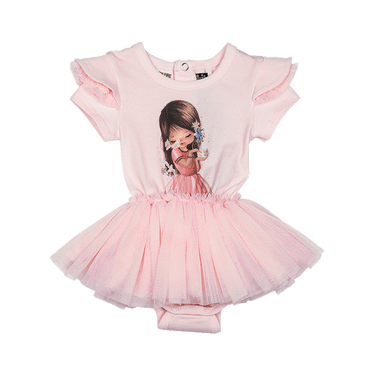 LITTLE CHARMER BABY CIRCUS DRESS