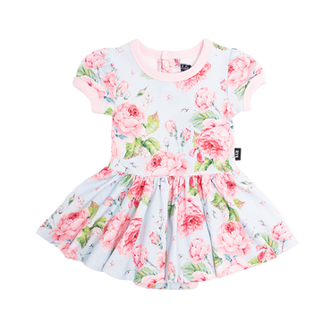 VINTAGE GIRL BABY WAISTED DRESS