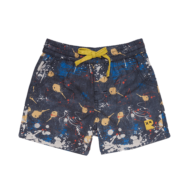 PAINT SPLATTER BOARDSHORTS