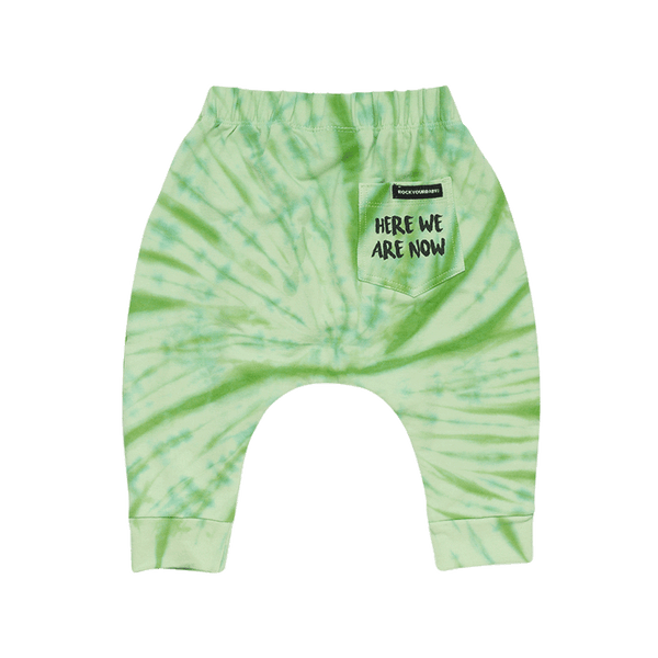 HERE WE ARE NOW BABY SLOUCH PANT