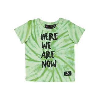 HERE WE ARE NOW BABY T-SHIRT