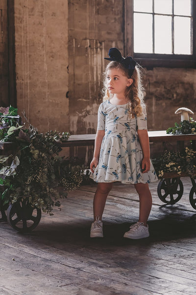LET'S DANCE SS WAISTED DRESS
