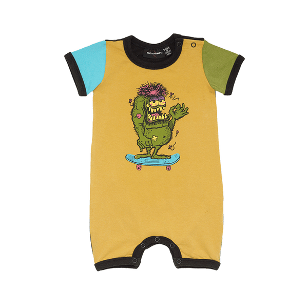 SKATE MONSTER PLAYSUIT