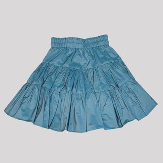 REVERSIBLE SKIRT BLUE