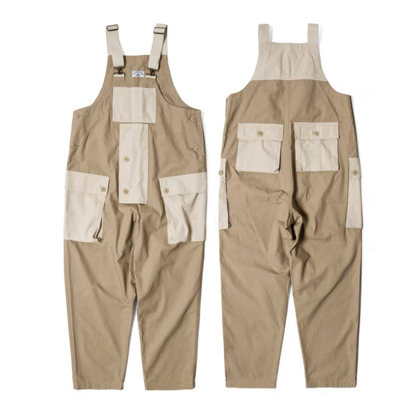 Cotton Ripstop British Worker Overall - Beige