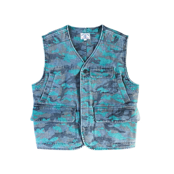 Bleach Washed Camouflage Combat Vest
