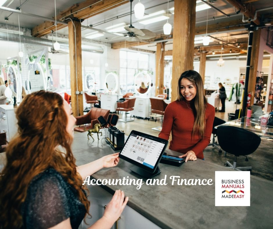What are the Accounting and Finance for restaurants?