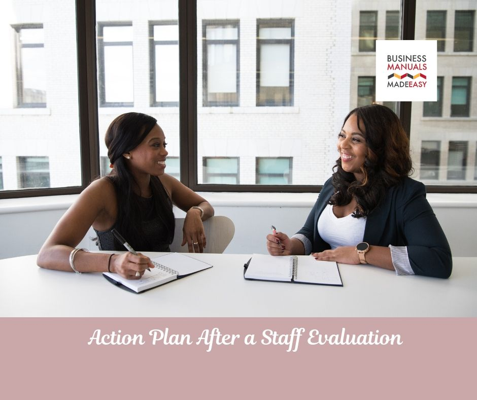 Action Plan After a Staff Evaluation