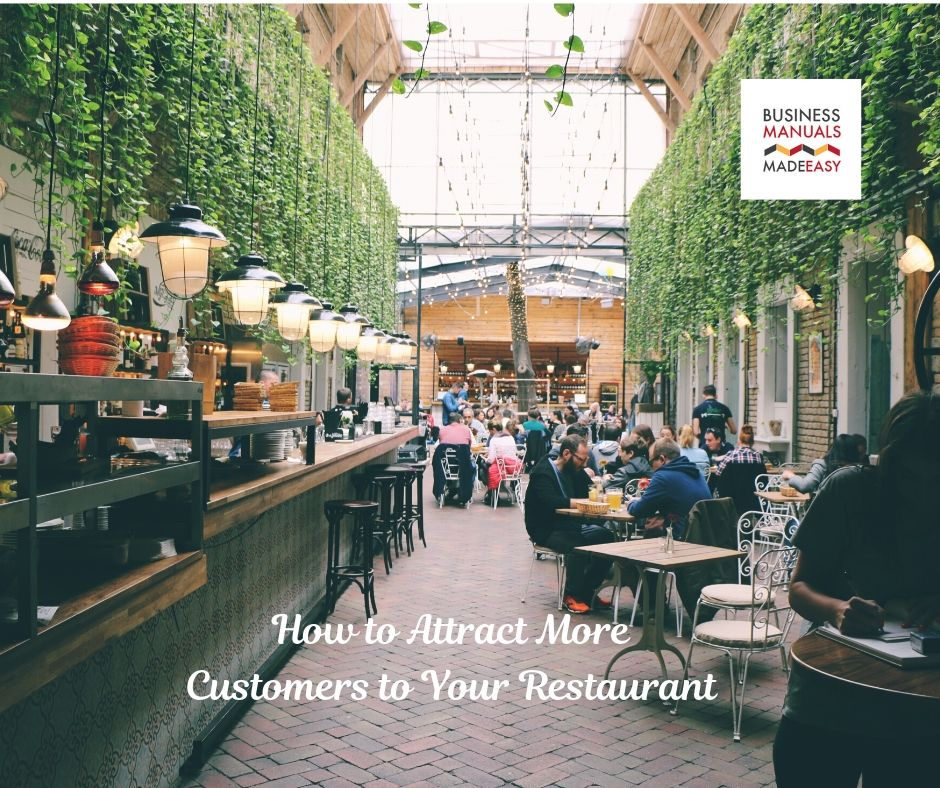 How to Attract More Customers To Your Restaurant