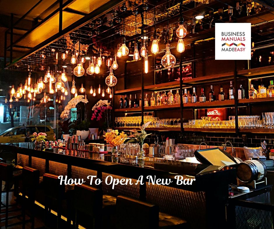 How To Open A New Bar