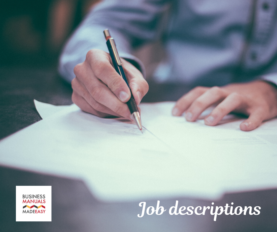 Importance of job descriptions