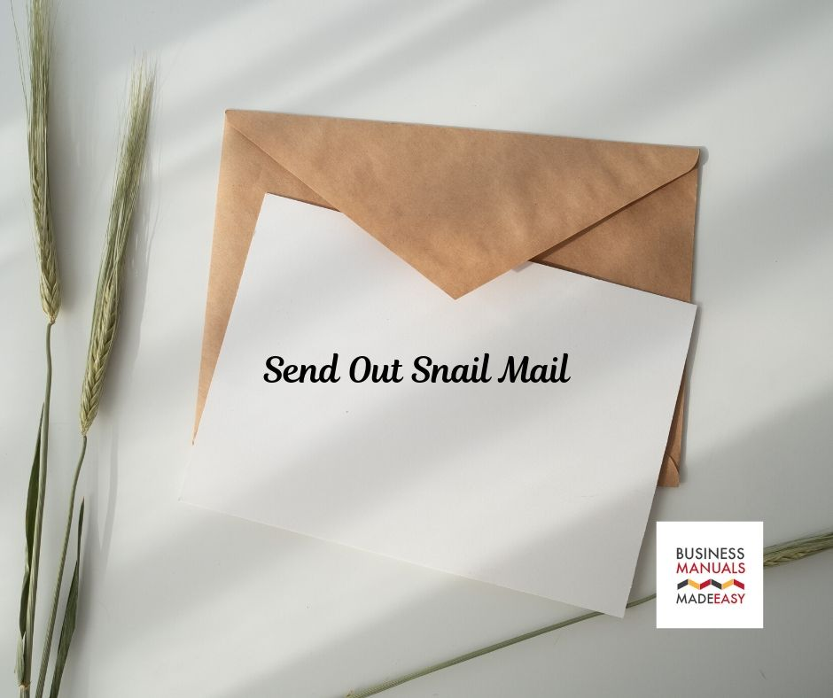 Send Out Snail Mail