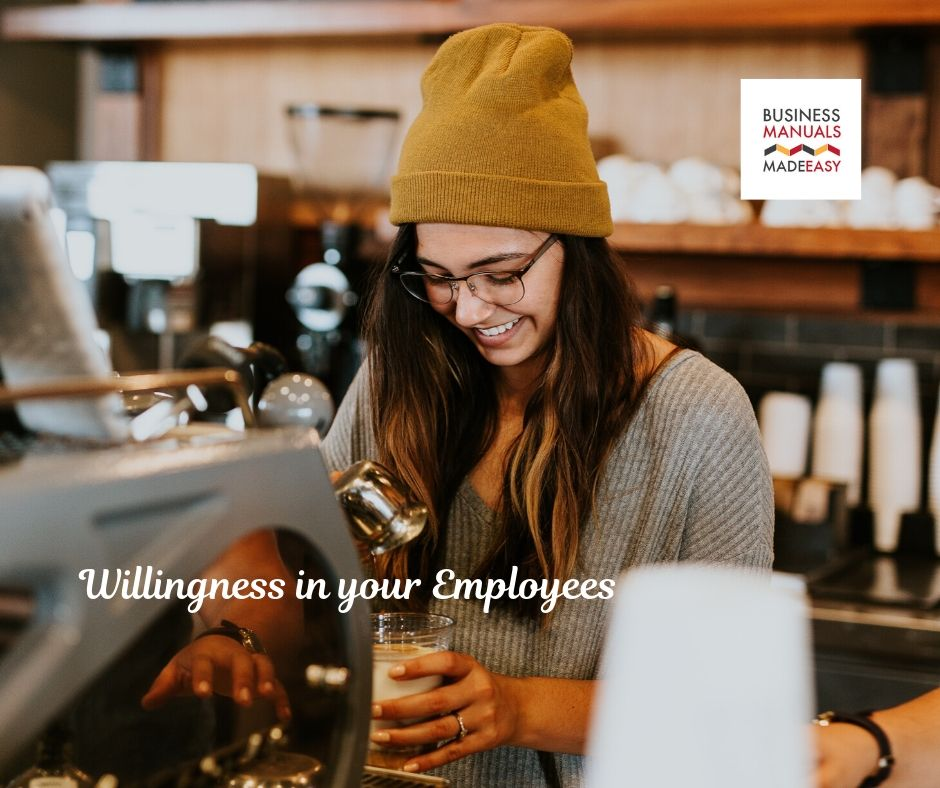 Willingness in your Employees