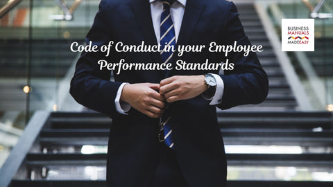 Code of Conduct in your Employee Performance Standards.