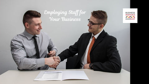 Employing Staff for Your Business