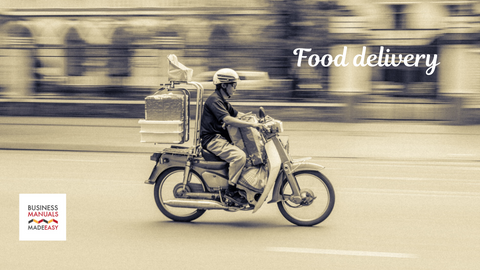 Food delivery - Consumers will need food on-the-go or food that can be prepared or eaten quickly