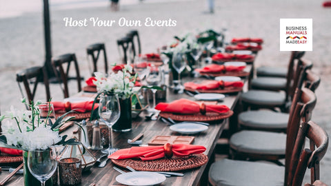 Host Your Own Events or Classes