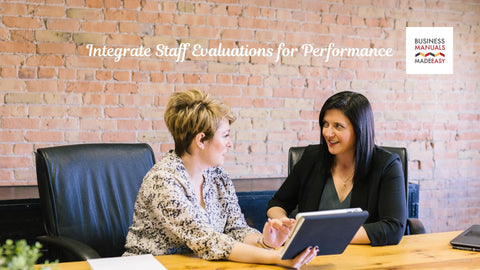 Integrate Staff Evaluations for Performance