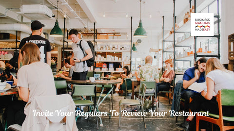 Invite Your Regulars To Review Your Restaurant