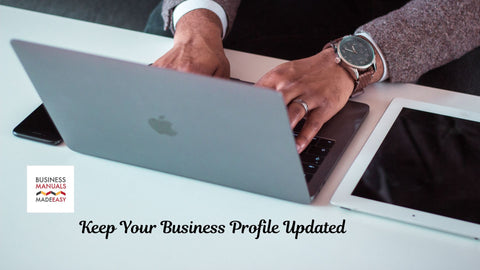 Keep Your Business Profile Updated