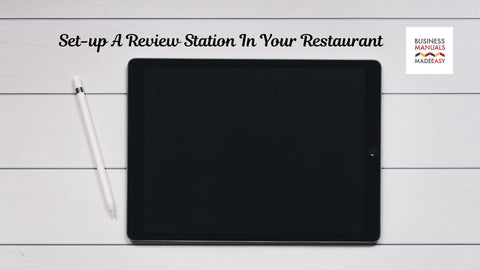 Set-up A Review Station In Your Restauran