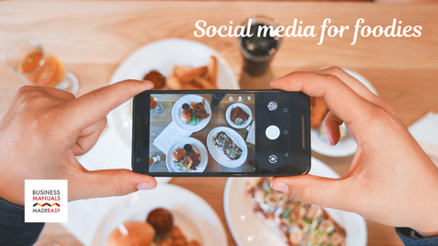 Social media for foodies